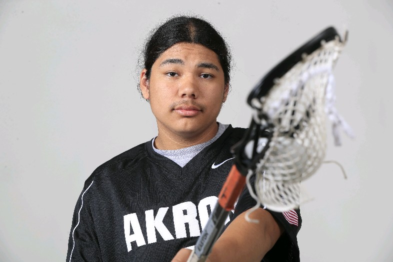 The Prep Talk Player of the Year in boys lacrosse is Owen Hill of Akron. (Harry Scull Jr./Buffalo News)