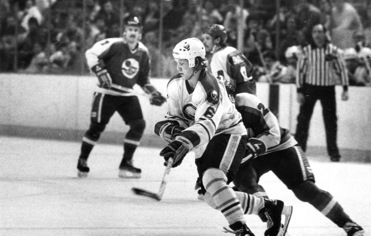 Phil Housley was a first-round Sabres draft pick in 1982 and spent eight years in Buffalo. (News file photo)