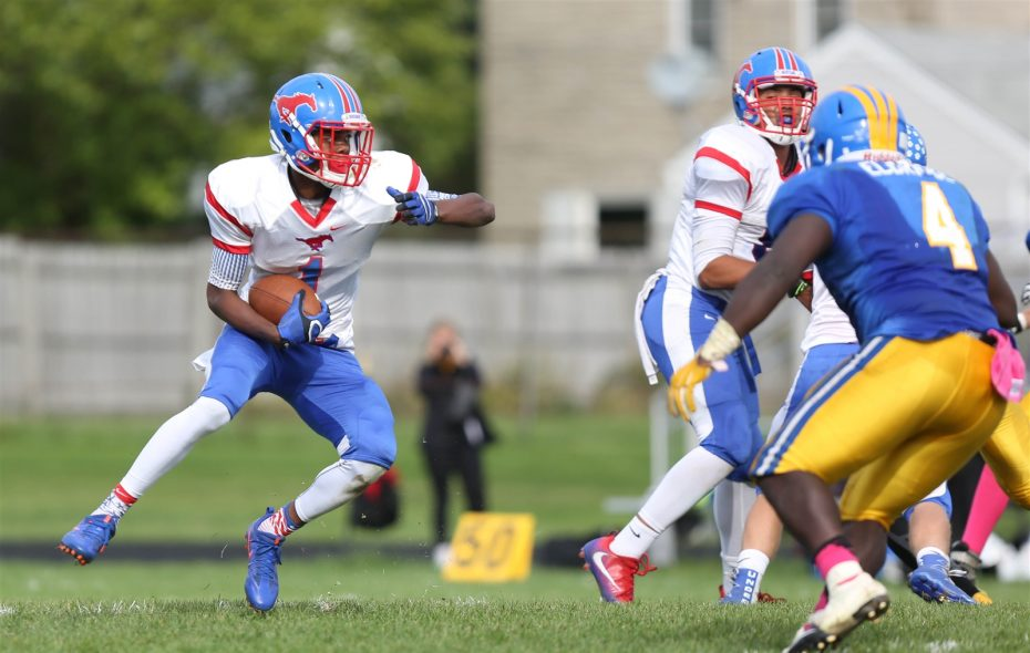 Jalin Cooper, who led Medina in touchdowns (16) and all-purpose yards, heads into his senior year verbally committed to WHERE. (Dave DeLuca/Special to the News)