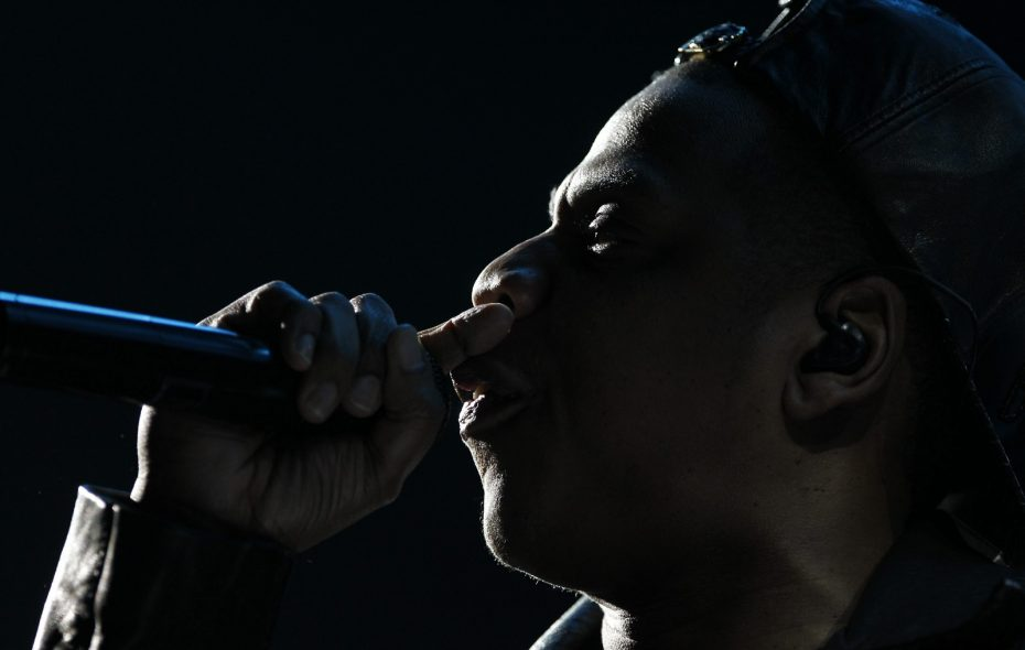 """Jay-Z has released """"4:44"""" exclusively through his own Tidal streaming service. (Harry Scull Jr./Buffalo News)"""