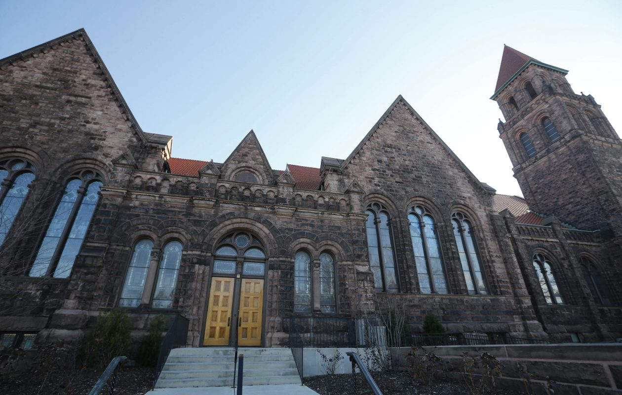 The Lafayette Avenue Presbyterian Church. (Derek Gee/Buffalo News file photo)