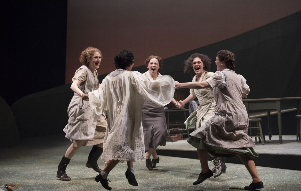 'Dancing at Lughnasa' runs through Oct. 15 in the Royal George Theatre.