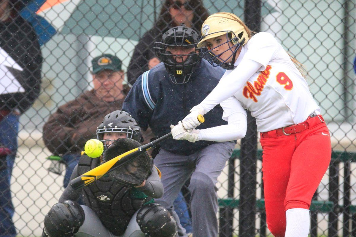 Christy Mack leads Williamsville East in home runs and batting average. (Harry Scull Jr./Buffalo News)