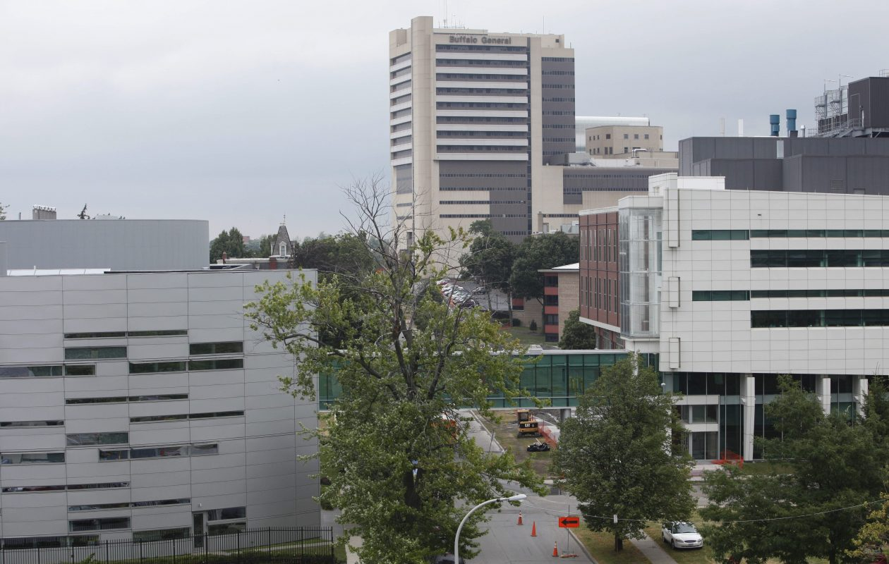 Buffalo Niagara Medical Campus. (Derek Gee / Buffalo News file photo)