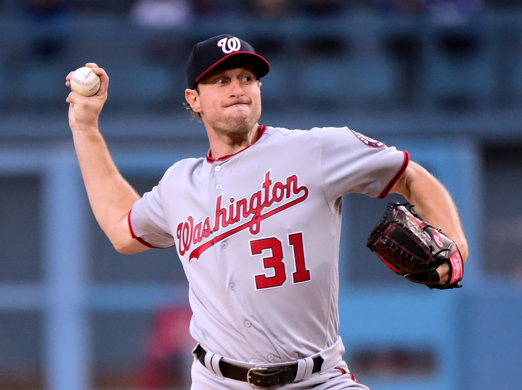 Max Scherzer has been dealing for the Nationals (Getty Images).