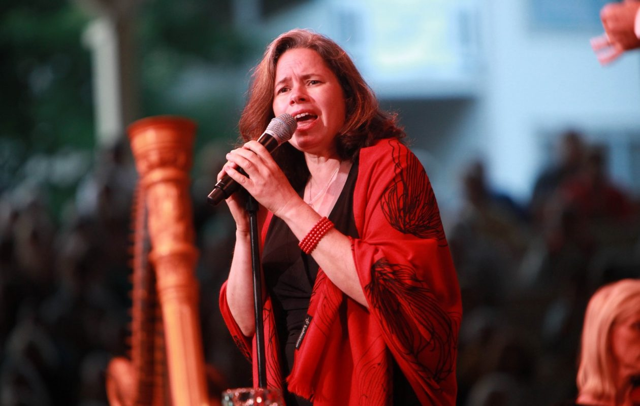 Natalie Merchant, here in concert in 2011 at the Chautauqua Institution (Sharon Cantillon/ Buffalo News)