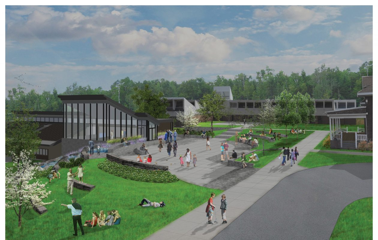 This is a rendering of the new science center that the Park School of Buffalo plans to construct starting later this summer on its Harlem Road campus.