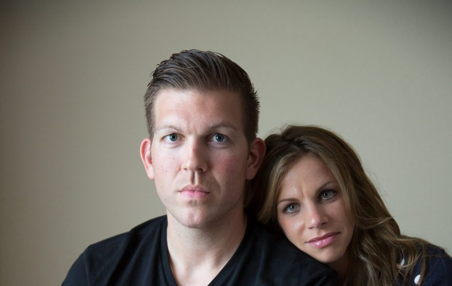 Army Maj. Patrick Miller, and his wife, Ashley Miller, are returning to western New York in July. (Buffalo News file photo by Juila Robinson)