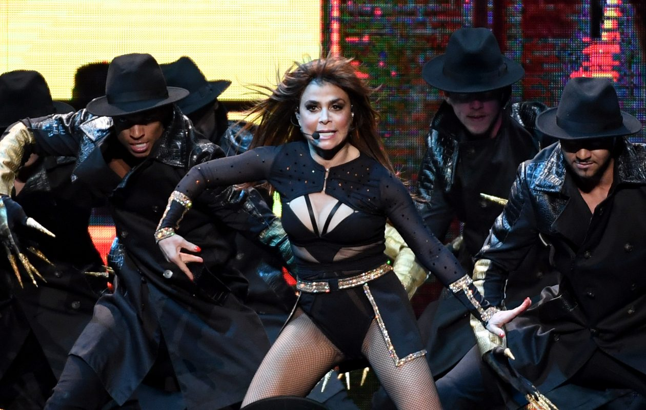 Paula Abdul will be in Buffalo as part of the 'Total Package Tour' with New Kids on the Block and Boyz II Men. (Getty Images)