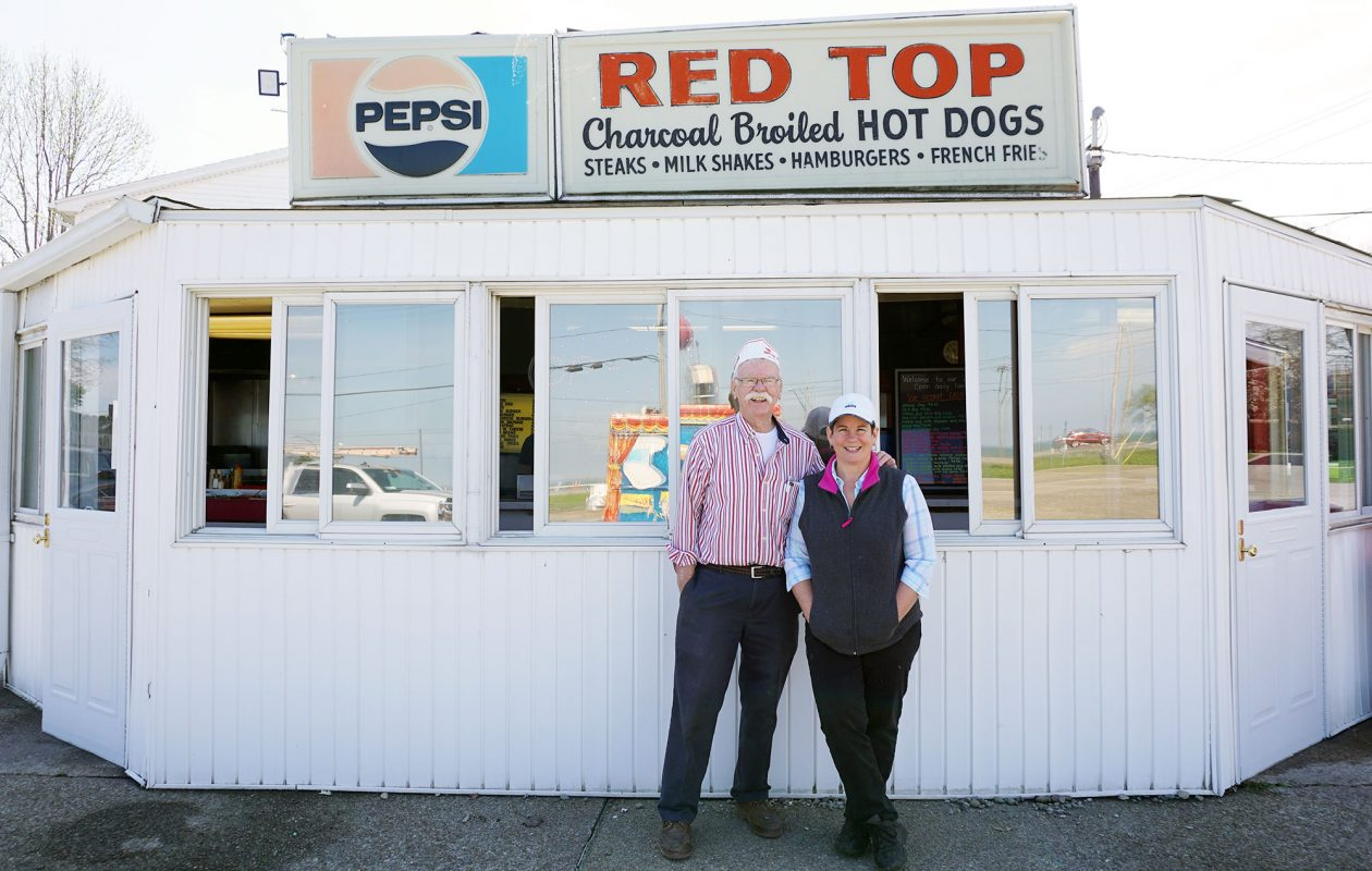 Red Top owner Dennis McNaney and his daughter, Lisa Sabres, who will take over the business this year. (Dave Jarosz)