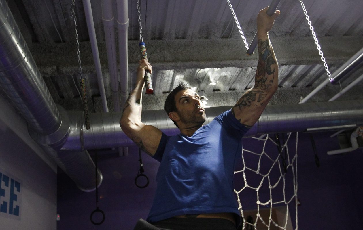 Hybrid Fitness owner and Ninja Warrior guru Patrick Hall, pictured in 2014, has helped organize the River Warrior Challenge. (Sharon Cantillon/Buffalo News file photo)