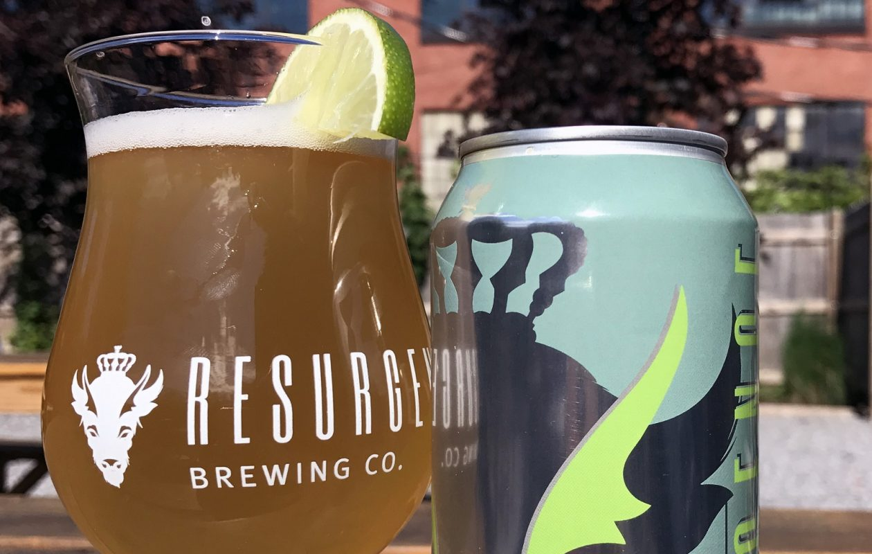 Resurgence Brewing Company will release its Lime Berliner Weisse at its Clam Jam event on June 10. (Photo by Resurgence)