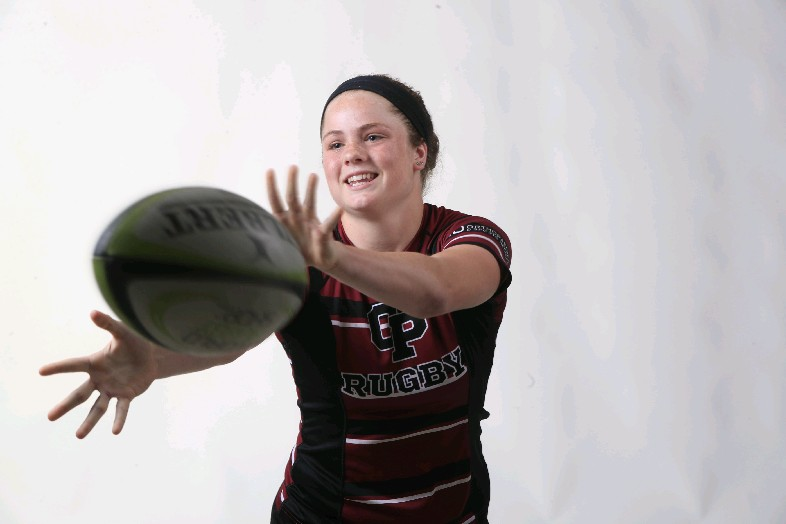 The Prep Talk Player of the Year in girls rugby is Emily Henrich of Orchard Park. (Harry Scull Jr./Buffalo News)