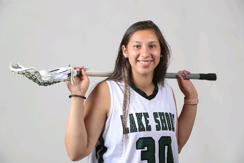 The Prep Talk Player of the year in girls lacrosse is Shayla Scanlan of Lake Shore.