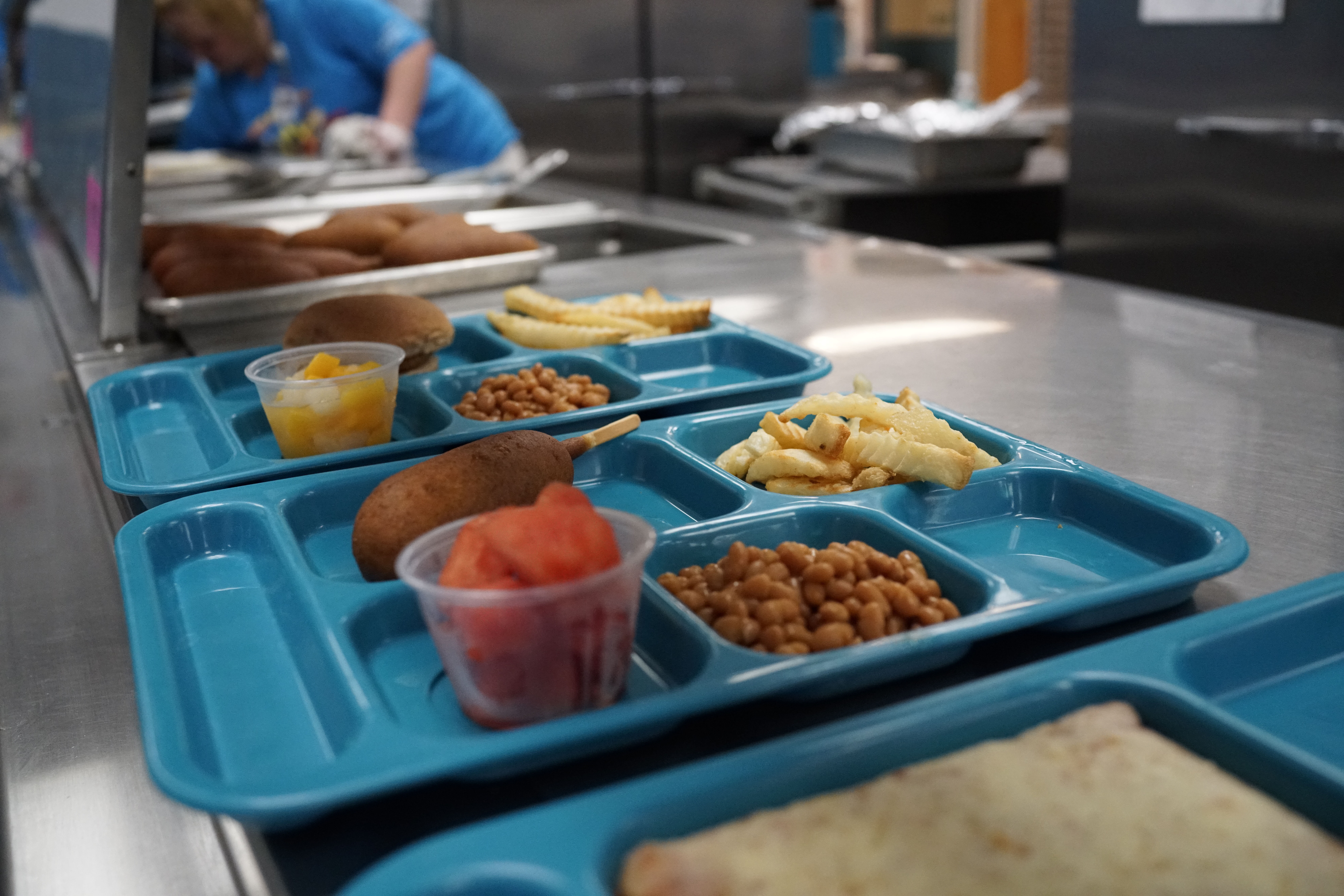 Trump's school lunch menu gets thumbs up from local