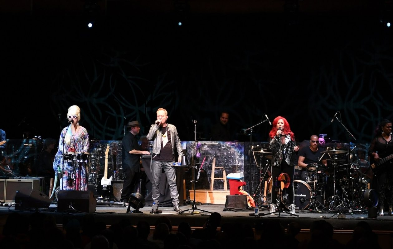 The B-52s performed alongside the Buffalo Philharmonic Orchestra on Wednesday, June 7, 2017 at Kleinhans Music Hall. (Nancy J. Parisi/Special to The News)