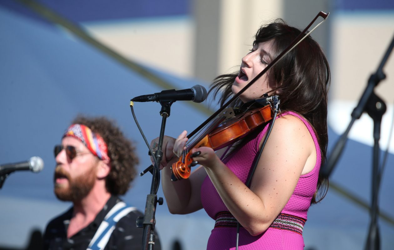 The Strumbellas, seen here performing at Kerfuffle in 2016, will return to Buffalo to play Town Ballroom. (Sharon Cantillon/Buffalo News file photo)