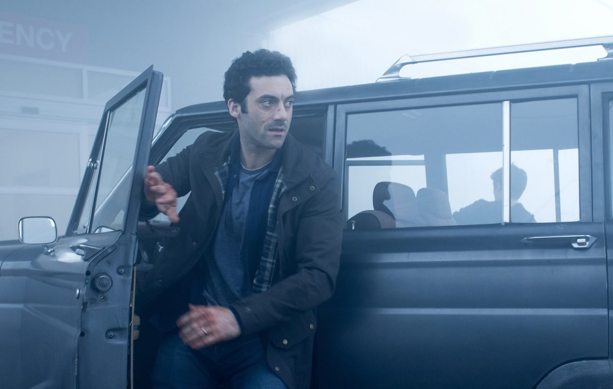 Kevin Copeland (Morgan Spector) ventures out into the mist in order to get to his wife and daughter who are stranded at the local mall. Based on a story by Stephen King, Spike TV's THE MIST premieres on Thursday, June 22 at 10 PM, ET/PT>