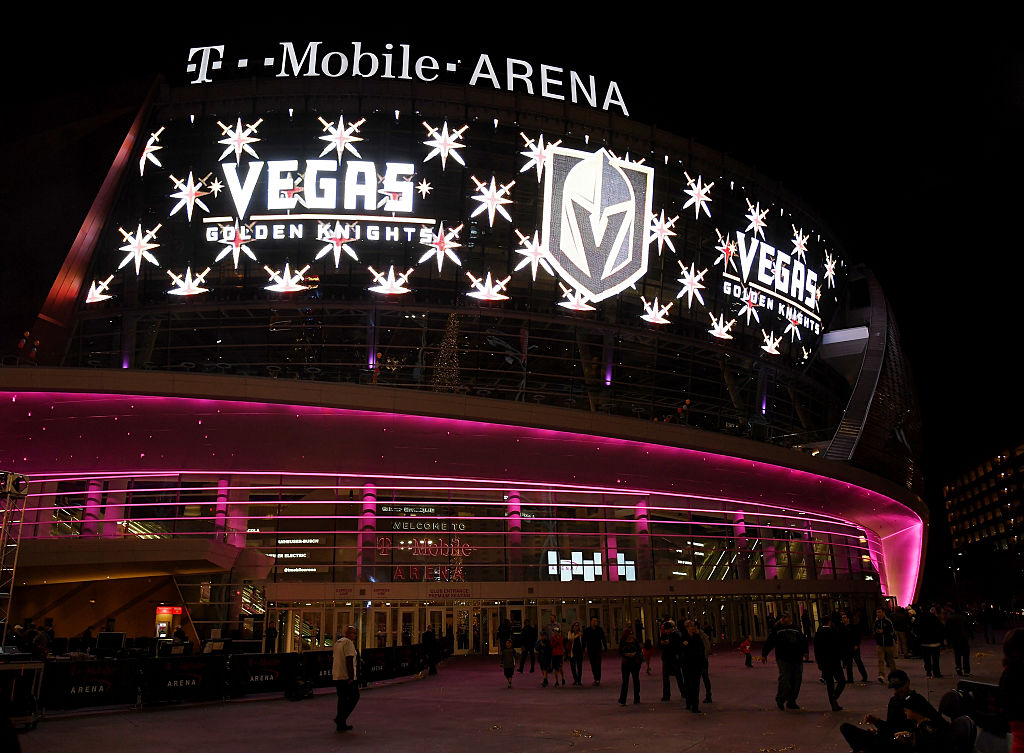 T-Mobile Arena will be the site for the announcement of the Vegas Golden Knights' expansion draft picks on Wednesday night (Getty Images).