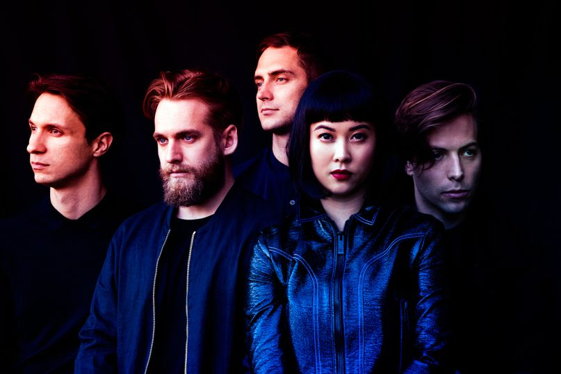 Indie pop quintet The Naked and Famous will play Buffalo's Town Ballroom on June 12.