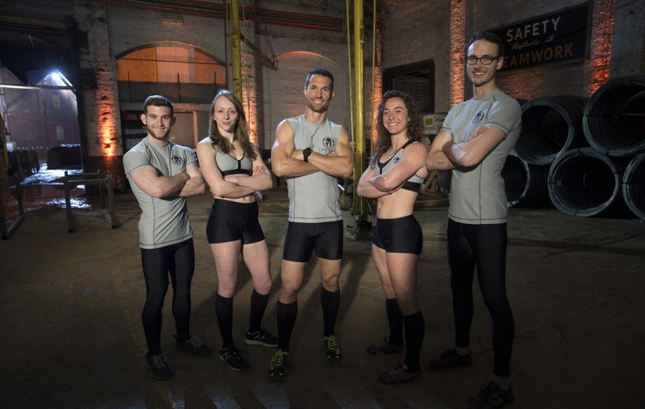 "From left: Trevor Bernard, Zoe Herrick, Kyle ""Wooch"" Graff, Ellen Lutnick and Chris Komin"