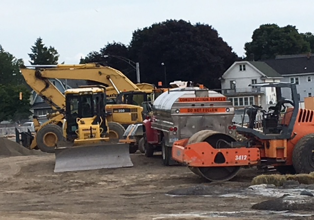 Construction continues on Bailey Avenue bridges in South Buffalo