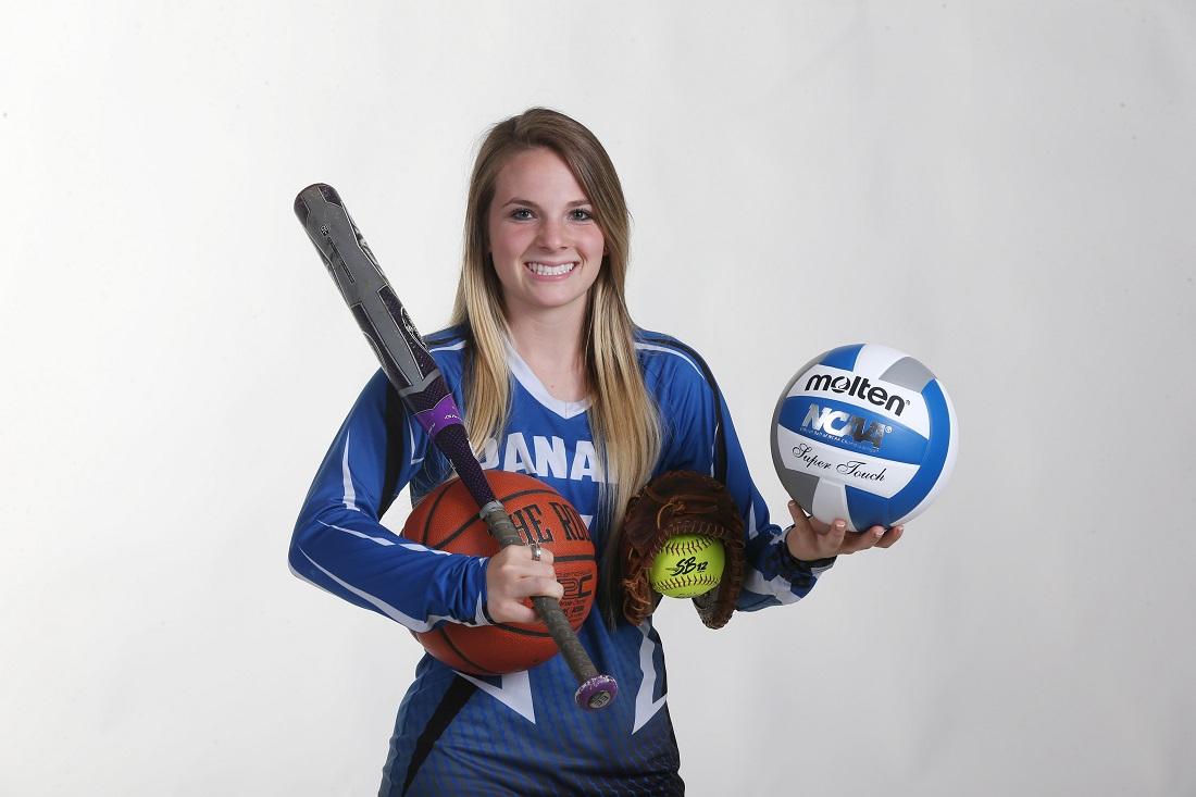 Panama's Madalyn Bowen is the 2017 girls three-sport athlete of the year (James P. McCoy / Buffalo News)