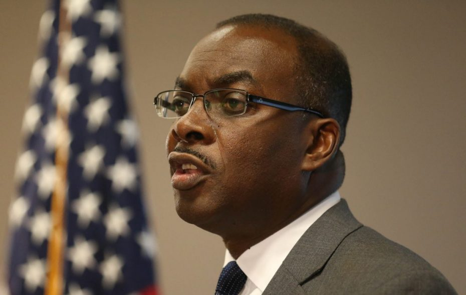 Buffalo Mayor Byron Brown is questioning a new outlook from Fitch Ratings. (News file photo)