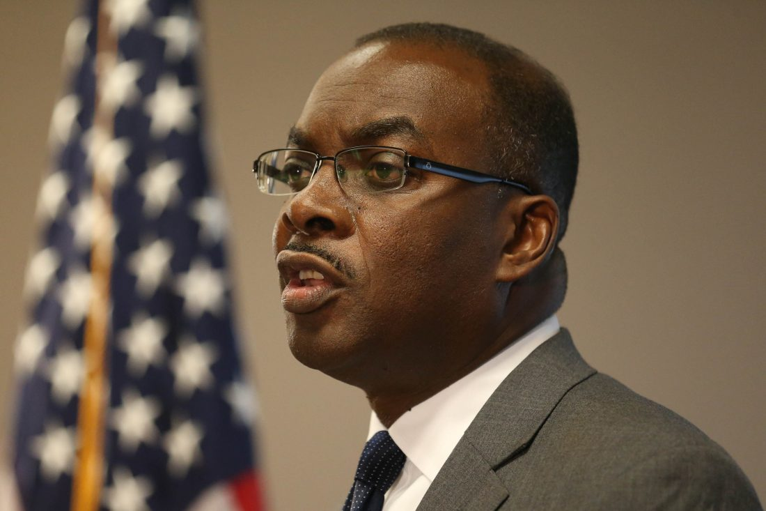 Buffalo Mayor Byron W. has proposed a $508.6 million budget that reduces spending and creates long-term savings. (News file photo)