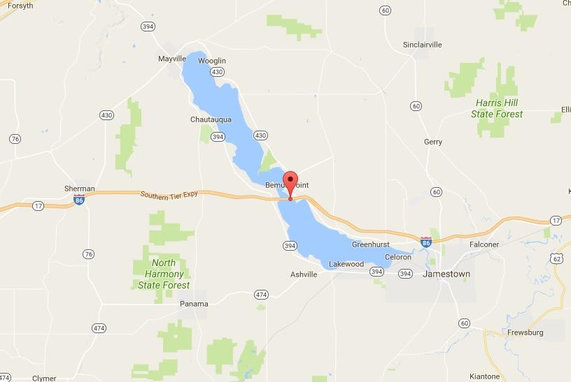 Chautauqua Lake. (Google Maps)