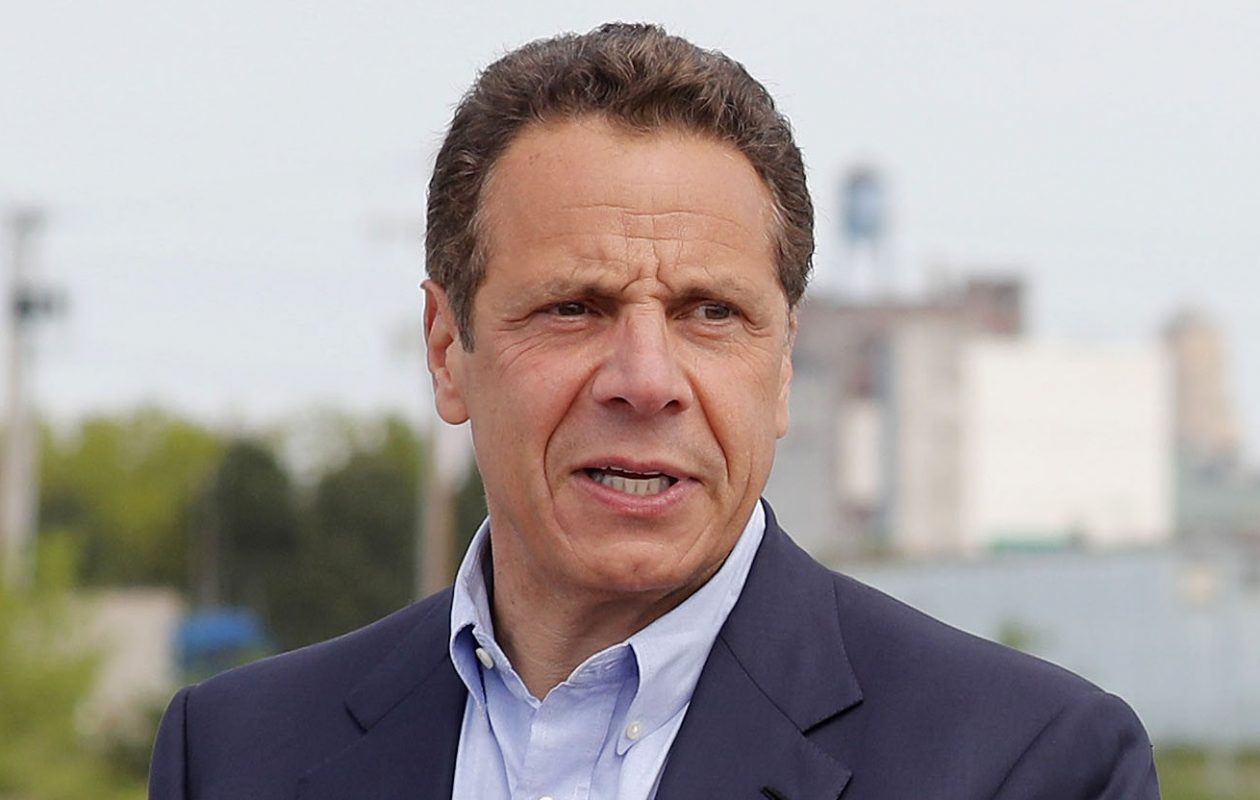 Gov. Cuomo criticized President Trump at a bill-signing Wednesday. (Mark Mulville/News file photo)