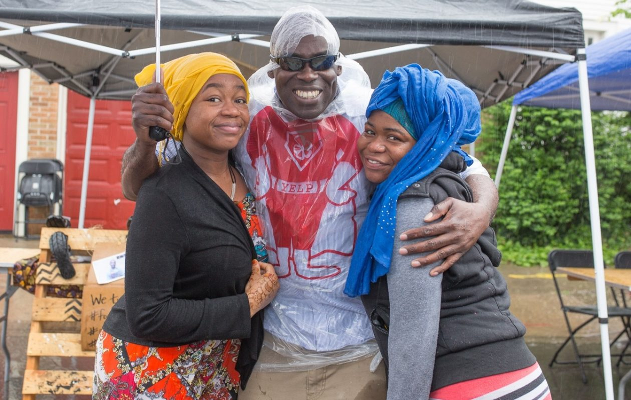 Smiling faces at the 2015 Taste of Diversity along Grant Street. (Chuck Alaimo/Special to The News)