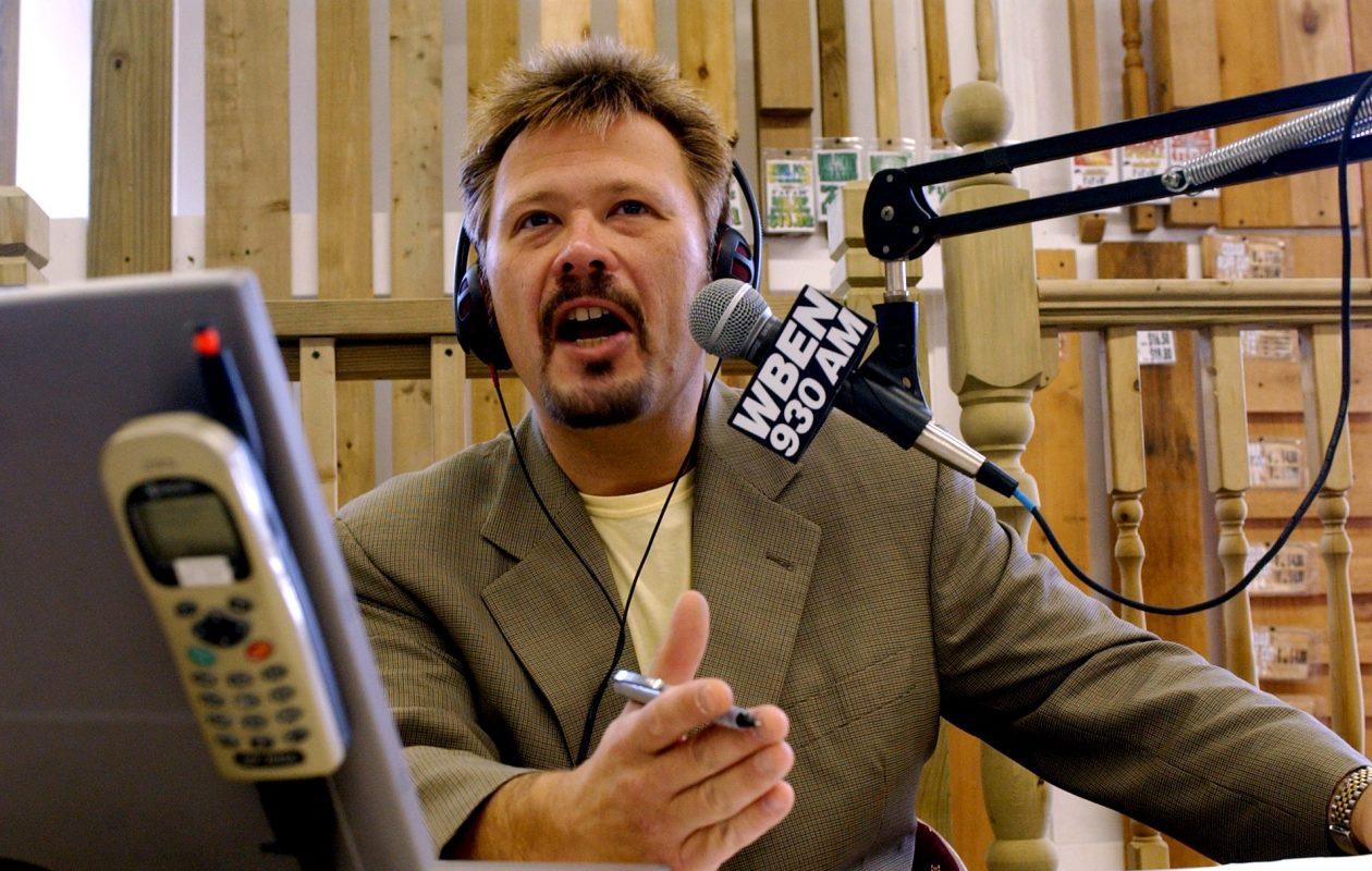 WBEN radio talk show host Tom Bauerle. (News file photo)