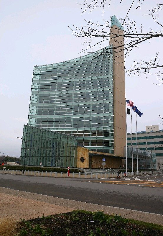 The Robert H. Jackson Federal Courthouse in Buffalo. (News file photo)