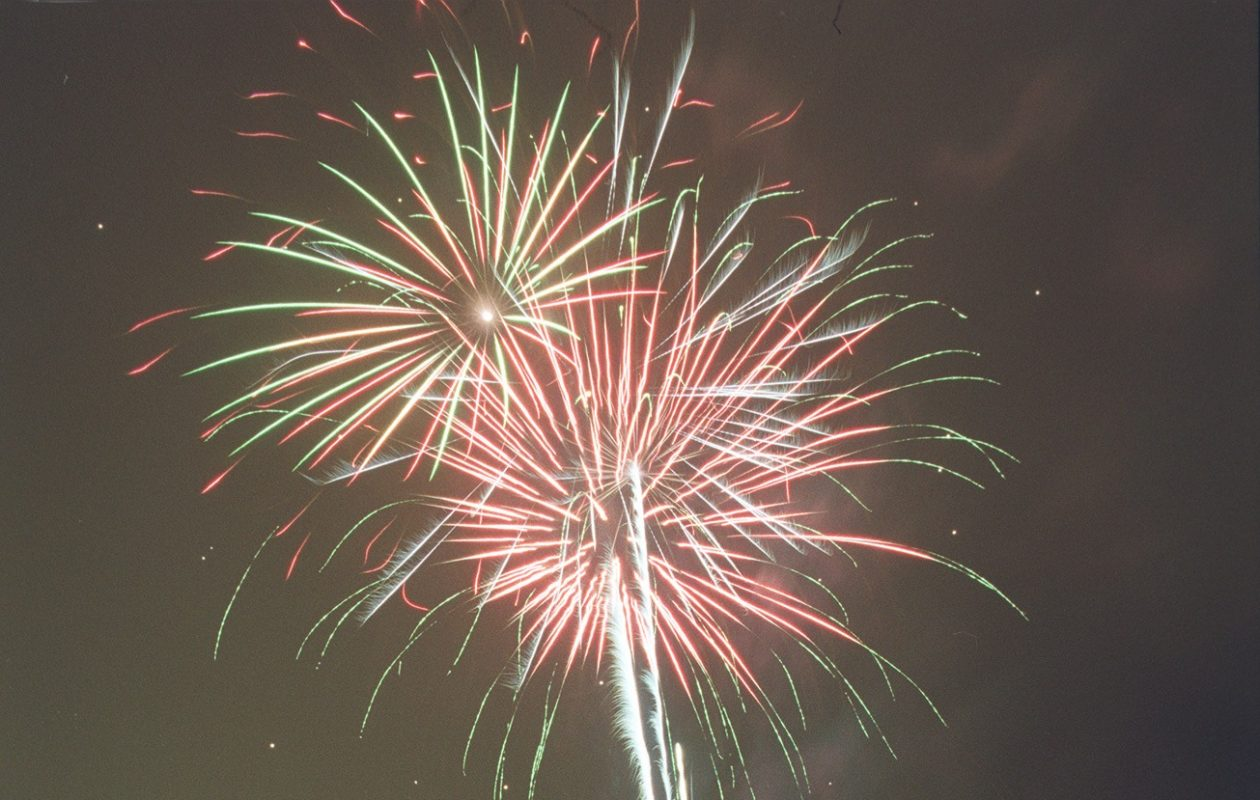 Fireworks are scheduled at 10 p.m .Saturday for Lake View's Founders Day Weekend.  (Buffalo News file photo)