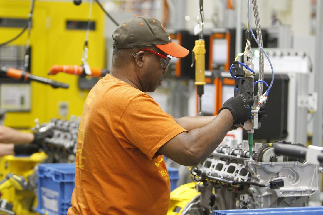 Buffalo Niagara manufacturers had a banner month in October, according to a survey of purchasing managers.