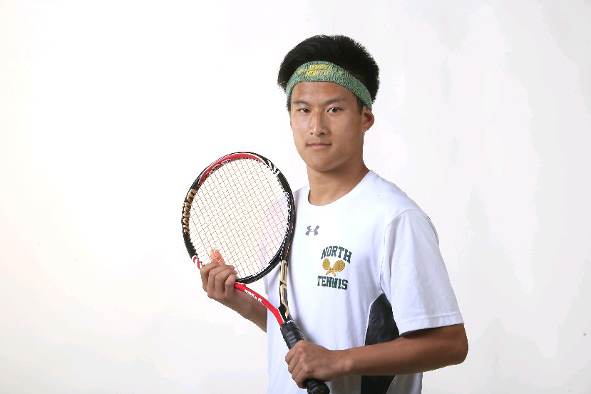 The Prep Talk Athlete of the Year in Boys Tennis is Harry Wang of Williamsville North. (Harry Scull/Buffalo News)