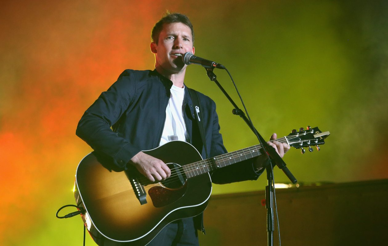James Blunt, who is opening for Ed Sheeran at KeyBank Center, said he's happy to be returning stateside. (Getty Images)