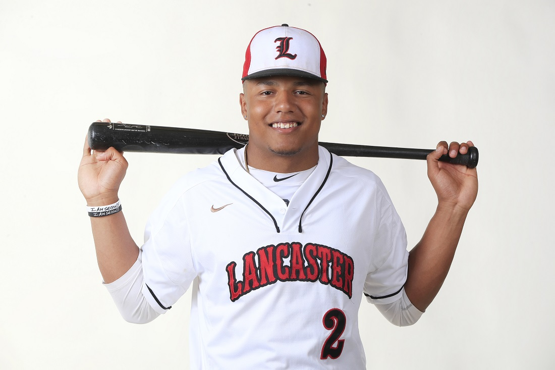 LG Castillo of Lancaster was drafted by the Milwaukee Brewers (Harry Scull Jr./Buffalo News)