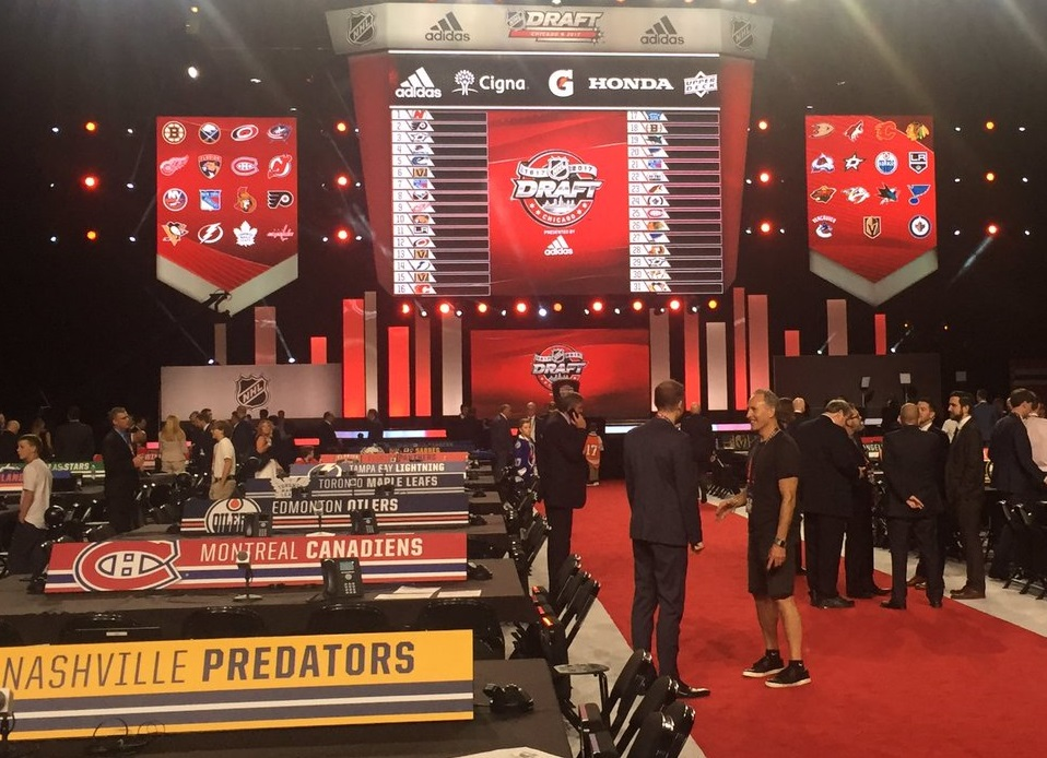 The NHL draft gets underway at 7 p.m. (Mike Harrington/Buffalo News)