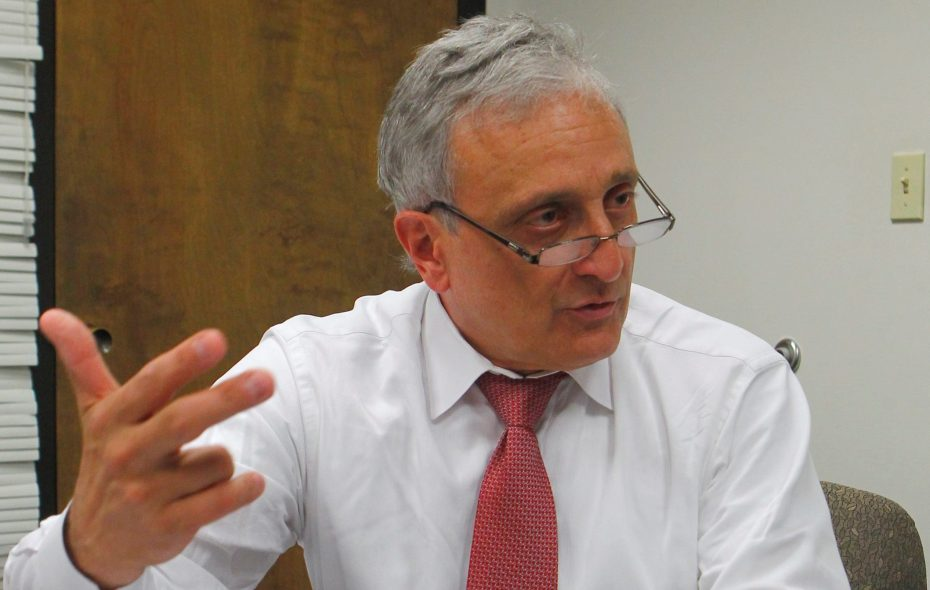 New York State Education Commissioner MaryEllen Elia removed Carl Paladino from the Buffalo School Board on Thursday, Aug. 17, 2017.   (Buffalo News file photo)