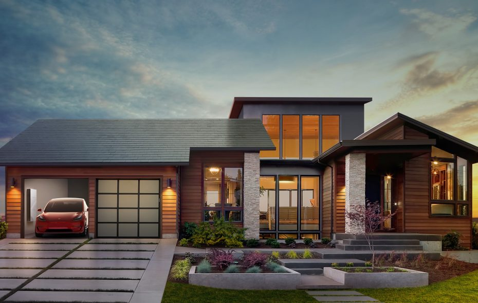Elon Musk was supposed to official announce details of Tesla Inc.'s latest version of its solar roof on Thursday. (Rendering courtesy of Tesla)