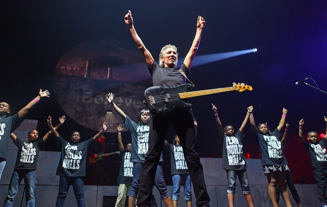 Roger Waters, seen during his 2012 Buffalo show, was powerfully political in KeyBank Center Saturday night. (Robert Kirkham/Buffalo News file photo)