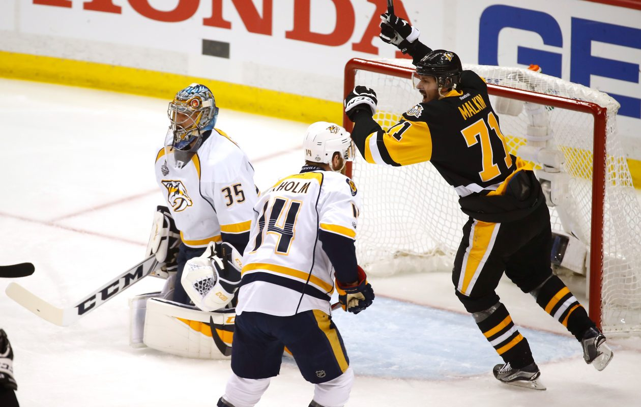 Standouts like Pittsburgh's Evgeni Malkin (71) and the Nasvhille duo of Mattia Ekholm and goaltender Pekka Rinne were all taken at various stages of the draft (Getty Images)