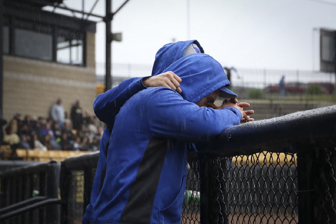 On a dreary weekend in Kalamazoo, Mich., UB players came face to face with the end of the baseball program and all of its ramifications. (Ashley Huss/Special to The News)