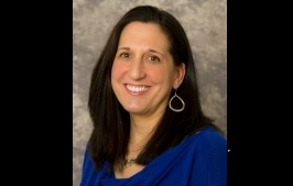 Ellen Volpe, 45, of Rochester was killed Thursday morning when her car was struck by a truck on the westbound Thruway in Lancaster.