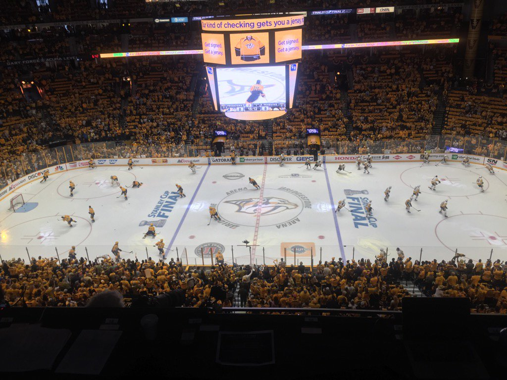 The Penguins and Predators gets set for Game Four (Mike Harrington/Buffalo News).