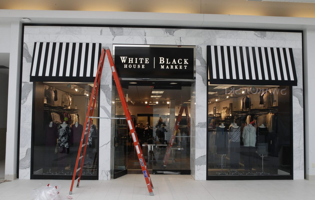 White House / Black Market, which has moved locations in the Walden Galleria, also has a location in the Fashion Outlets of Niagara Falls, shown here, as well as in Orchard Park. (John Hickey/Buffalo News file photo)
