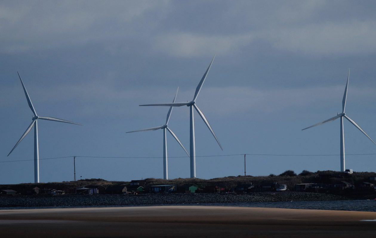 A survey showed two-thirds of Somerset property owners oppose plans for a wind power project. (Getty Images)
