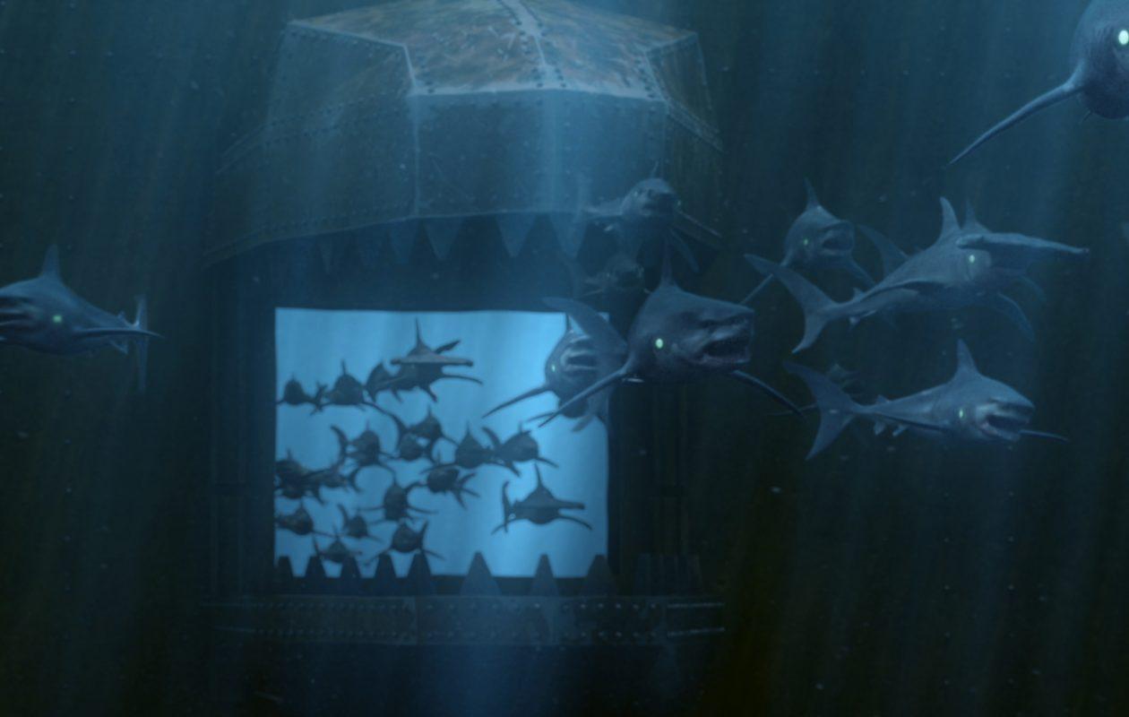 'Empire of the Sharks' premieres Aug. 5 on Syfy. (Photo courtesy the Asylum)